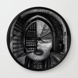 Arch girl Wall Clock