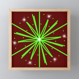 Sparks Framed Mini Art Print