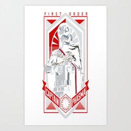 Captain Phasma Tee Art Print