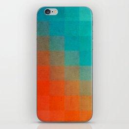 Beach Pixel Surface iPhone Skin