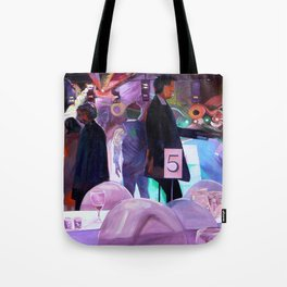 Hand Jive Tote Bag