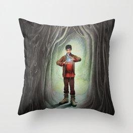 Sorcerer Throw Pillow