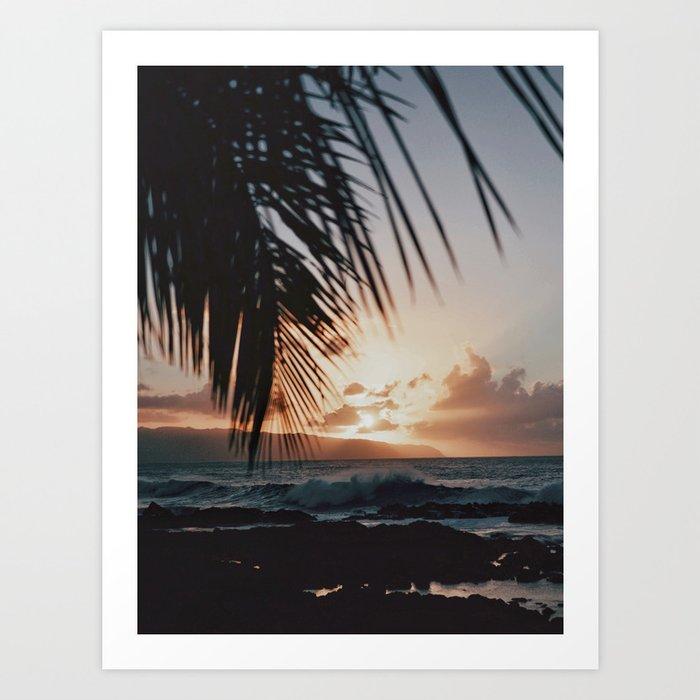 North Shore Art Print
