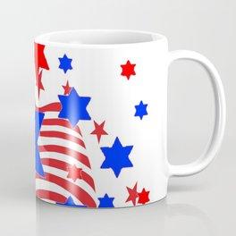 PATRIOTIC JULY 4TH AMERICAN FLAG ART Coffee Mug