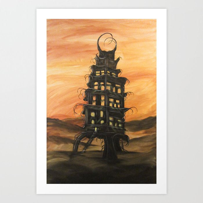 Tower of Souls Art Print