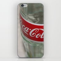 coca cola iPhone & iPod Skins featuring Coca-cola by hrsl