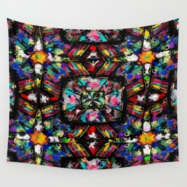 Ecuadorian Stained Glass 0760 Wall Tapestry