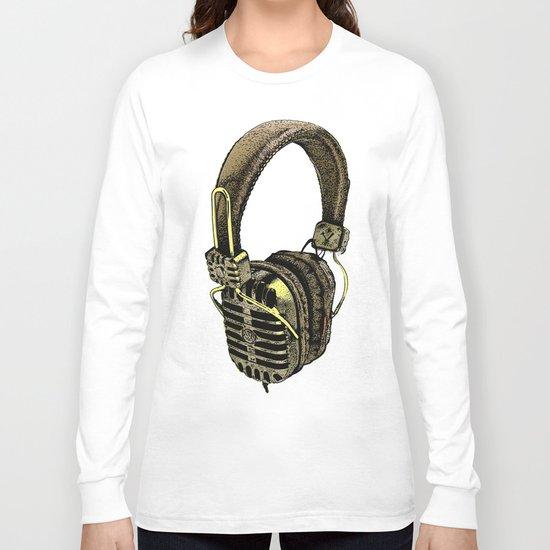 HEAD PHONE Long Sleeve T-shirt