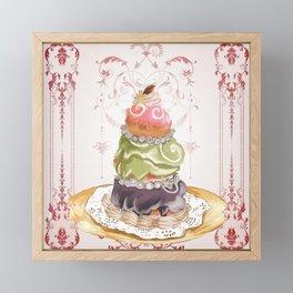 Budapest Pastry Shop Framed Mini Art Print