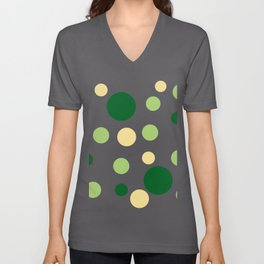 Green Pop Unisex V-Neck