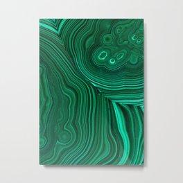 Malachite Metal Print