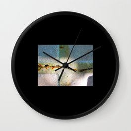 Cracks Wall Clock