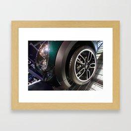 BMW Mini Paceman Wheel Framed Art Print