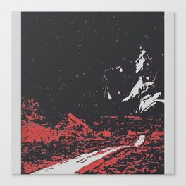 Dawn's Highway Bleeding - The Doors Canvas Print
