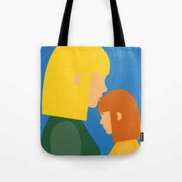 Mum And Daughter Tote Bag