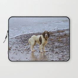 after swimming Laptop Sleeve