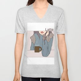 Coffee Time 2 Unisex V-Neck
