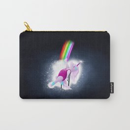 80s Unicorn Flashdance Carry-All Pouch