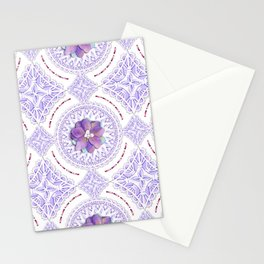 Victorian Flowers Stationery Cards
