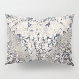 Indian Elephant Mandala Pillow Sham