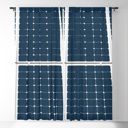 Image of solar power panel Blackout Curtain