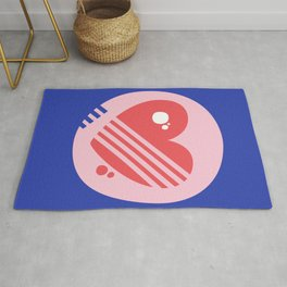 Love Pop Heart Rug