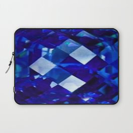 Blue Sapphire September Birthstone Gem Laptop Sleeve