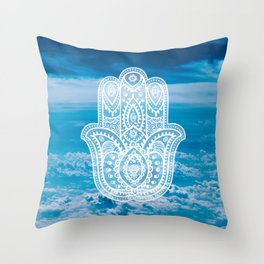 HAMSA #2 Throw Pillow