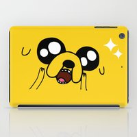 jake iPad Cases featuring Happy Jake by KisaSunrise