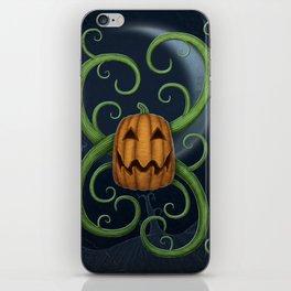 Pumpkin's Delight iPhone Skin