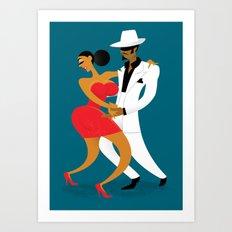 Last Tango in Cuba Art Print