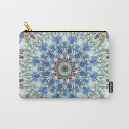 Kaleidoscope No. 3 - Blue Carry-All Pouch