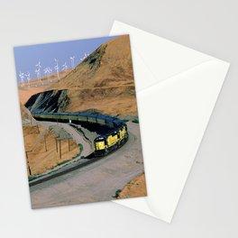 Chicago & Northwestern Train Through Altamont Pass Stationery Cards