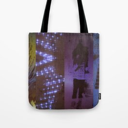 DropArt collage Tote Bag