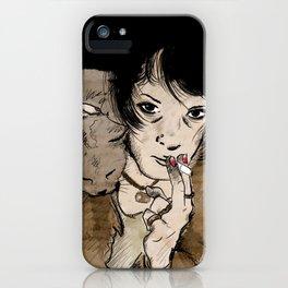 Crazy Mary iPhone Case