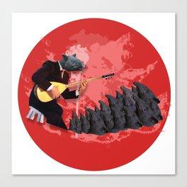 Tapir World's Canvas Print