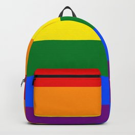 Pride Rainbow Colors Backpack