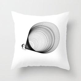 Shun The Sound Waves Throw Pillow