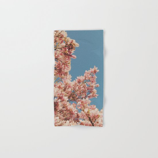 Pink Blossoms Hand & Bath Towel