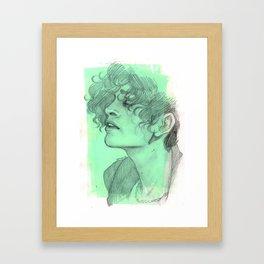 Bubblegum Punk Framed Art Print