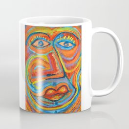 Retrato Seria pasión Coffee Mug
