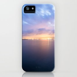 Watching the City lights II iPhone Case