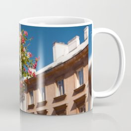 Pink and red Ivy leaved geranium Coffee Mug