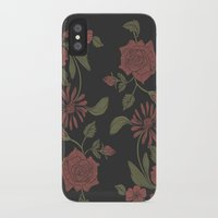 flora iPhone & iPod Cases featuring Flora by Norman Duenas