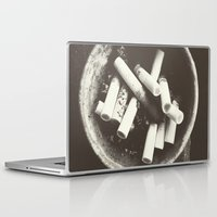 cigarettes Laptop & iPad Skins featuring cigarettes by Sushibird