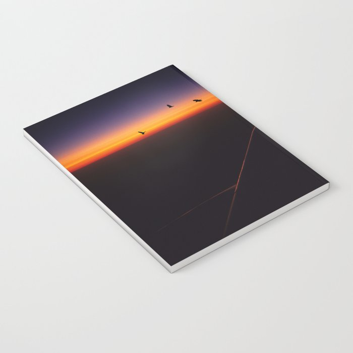 Horizon Sunset Notebook