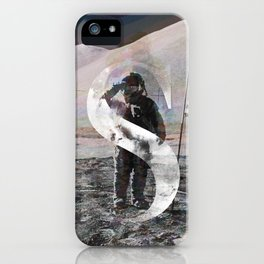 S is for Space. iPhone Case