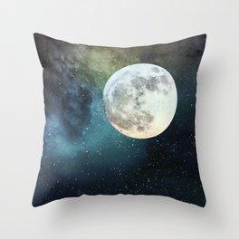 Infinity Moon Throw Pillow