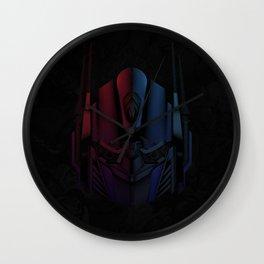 Optimus Prime Line Art by Kaydesign Wall Clock