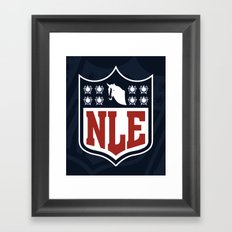 National League of Evil Framed Art Print